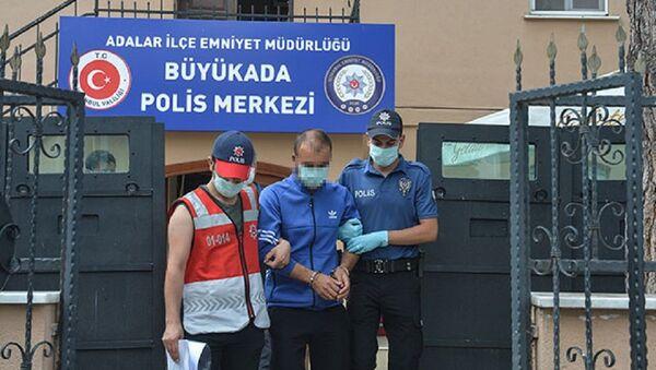 Heybeliada, yangın, Sedat D. - Sputnik Türkiye