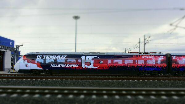15 Temmuz treni - Sputnik Türkiye