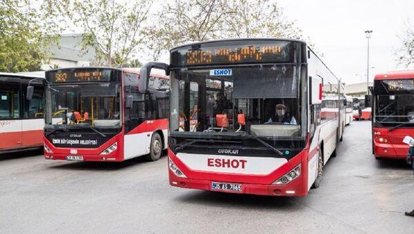 İzmir Büyükşehir Belediyesi'ne bağlı ulaşım şirketi ESHOT - Sputnik Türkiye