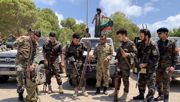Libya'da BM tarafından tanınan ve Türkiye tarafından da desteklenen Trablus hükümetine bağlı güçler - Sputnik Türkiye