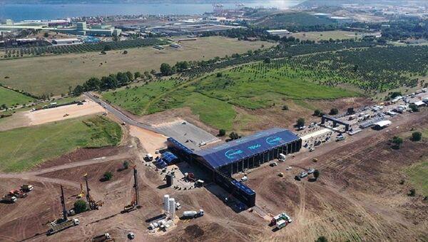 'Türkiye'nin Otomobili'nin üretileceği alan havadan görüntülendi - Sputnik Türkiye