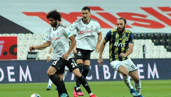 Süper Lig'in 33. haftasında oynanan Beşiktaş-Fenerbahçe derbisi - Sputnik Türkiye