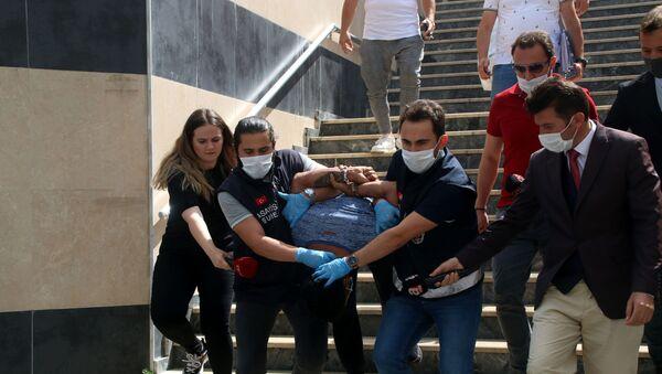Bağcılar'daki silahlı saldırıda polis memurunu öldüren zanlının ifadesi ortaya çıktı - Sputnik Türkiye