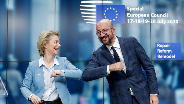 Charles Michel ve Ursula Von Der Leyen - Sputnik Türkiye