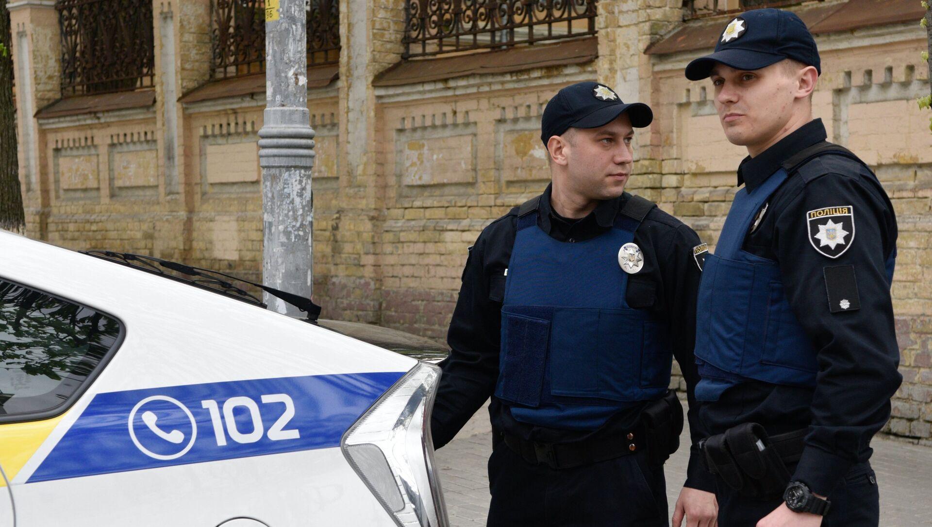 Ukrayna polisi - Sputnik Türkiye, 1920, 11.05.2021