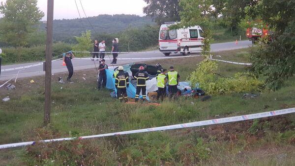 Kocaeli'de kaza: 2'si çocuk 5 kişi öldü - Sputnik Türkiye