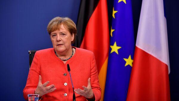 Angela Merkel - Sputnik Türkiye