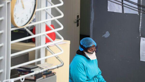 Güney Afrika'da koronavirüs - Sputnik Türkiye