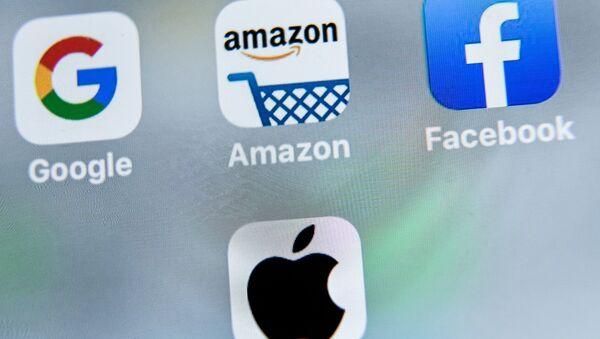 Amazon, Apple, Google ve Facebook - Sputnik Türkiye