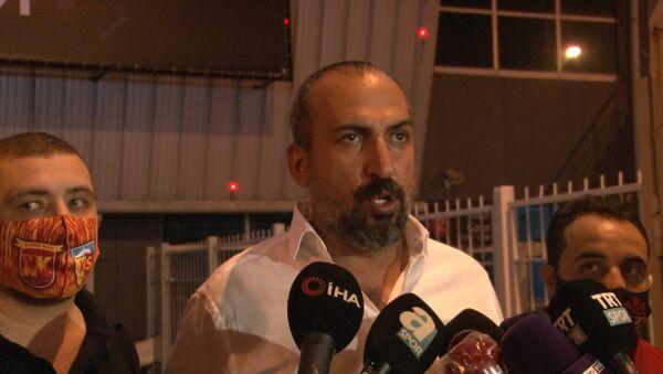 Kayserispor Basın Sözcüsü Mustafa Tokgöz - Sputnik Türkiye