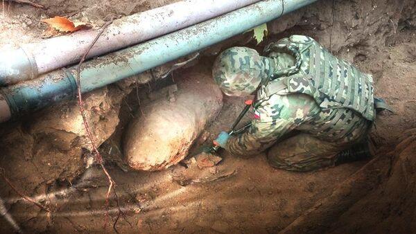 Polonya'da İkinci Dünya Savaşı'ndan kalma bomba bulundu - Sputnik Türkiye
