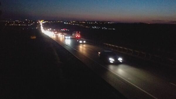 İstanbul'a dönüş yolunda yoğunluk - Sputnik Türkiye