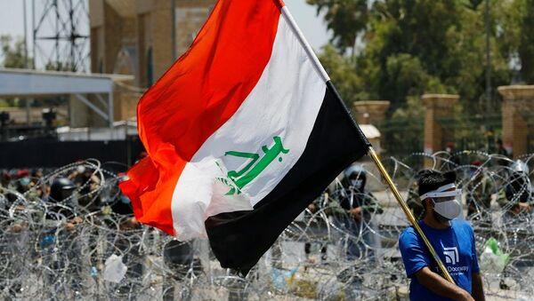 Irak'ta hükümet karşıtı gösteriler - Sputnik Türkiye