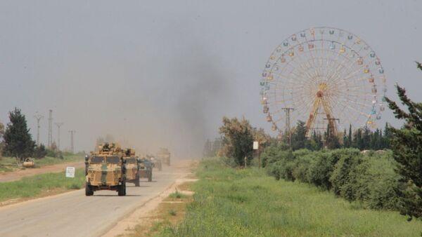 Rusya-Türkiye ortak devriye, M4 Karayolu, Suriye - Sputnik Türkiye