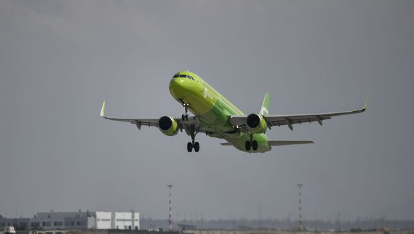 S7 Airlines, Simferopol Uluslararası Havalimanı, Rusya - Sputnik Türkiye