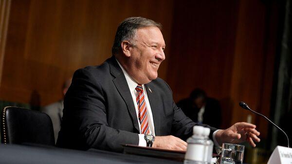 ABD Dışişleri Bakanı Mike Pompeo - Sputnik Türkiye