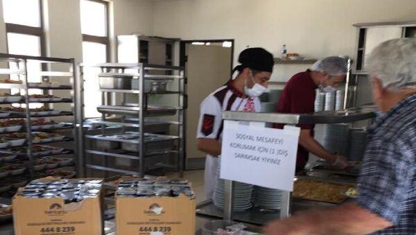 Hastaneden sosyal mesafeye 'sarımsaklı' önlem - Sputnik Türkiye