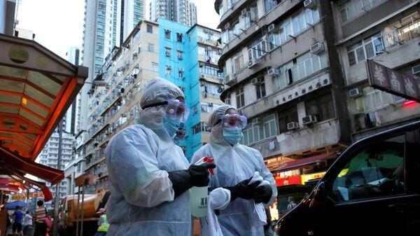 Hong Kong-koronavirüs  - Sputnik Türkiye