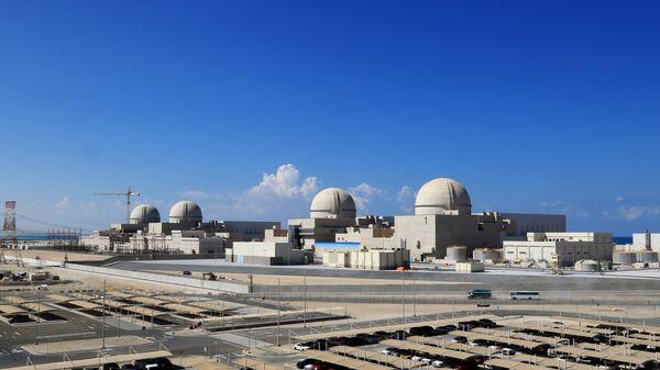 Birleşik Arap Emirlikleri'nde (BAE) ve Arap Yarımadası'nda ilk nükleer santral olan Baraka Nükleer Enerji Santrali - Sputnik Türkiye