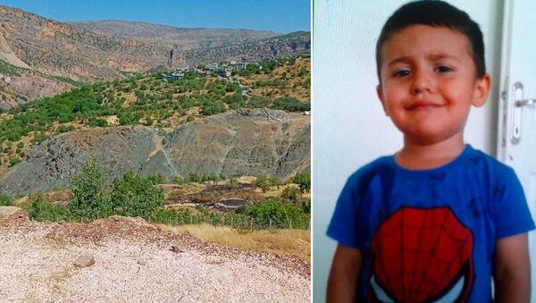 Diyarbakır'ın Dicle ilçesinin Kelekçi köyünde dün kaybolan 4 yaşındaki Miraç Çiçek, köyün dışında baygın halde bulunarak hastaneye kaldırıldı. - Sputnik Türkiye