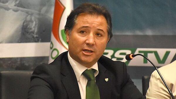 Bursaspor Kulübü Başkanı Mesut Mestan - Sputnik Türkiye