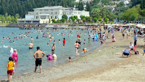 Tatil - sahil - plaj - Sputnik Türkiye