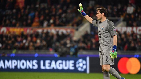 İspanya Milli Takımı ve Real Madrid'in efsane kalecisi Iker Casillas - Sputnik Türkiye
