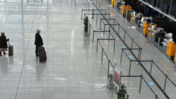 Münih Franz-Josef-Strauss Havalimanı - Sputnik Türkiye