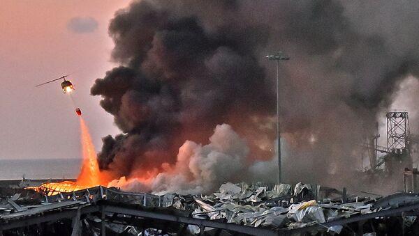 Beyrut patlama - Sputnik Türkiye