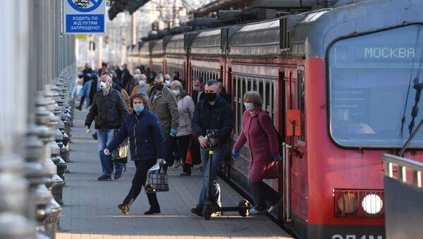 Rusya, tren - Sputnik Türkiye
