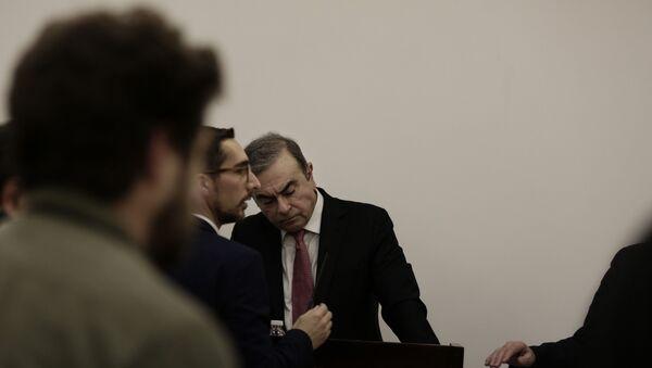 Carlos Ghosn - Sputnik Türkiye