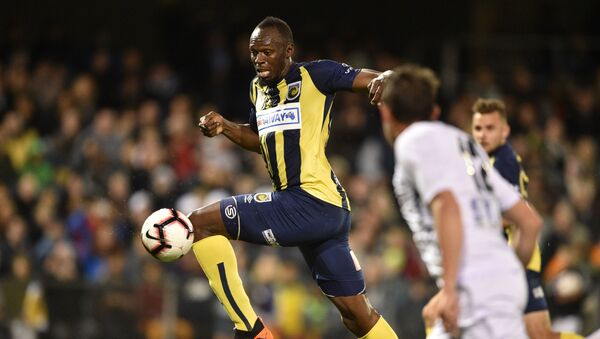 Usain Bolt-futbol - Sputnik Türkiye