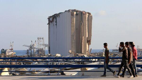 Lübnan-Beyrut Limanı-patlama - Sputnik Türkiye
