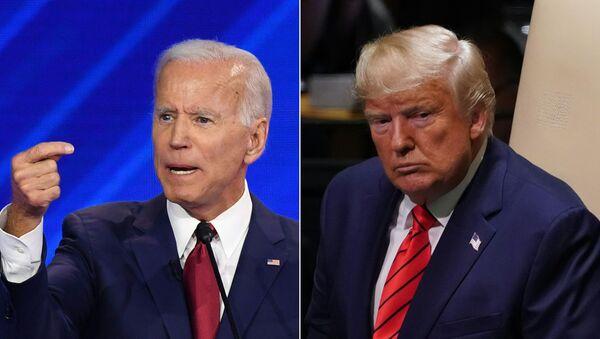 Donald Trump-Joe Biden - Sputnik Türkiye