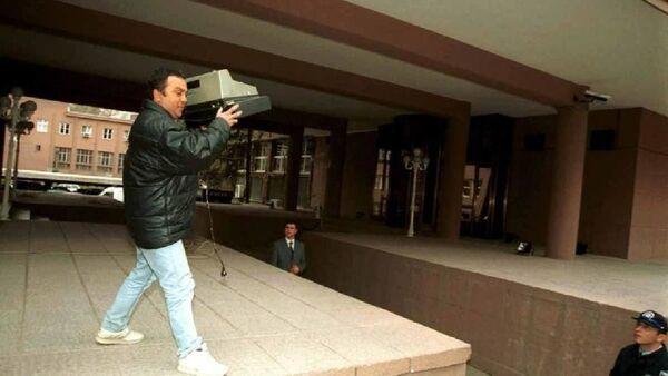 2001 krizinde yazar kasa fırlatan esnaf Ahmet Çakmak - Sputnik Türkiye