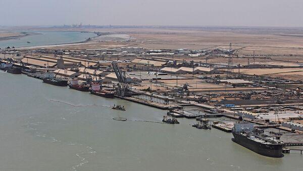 Um Kasır limanı - Irak - Sputnik Türkiye