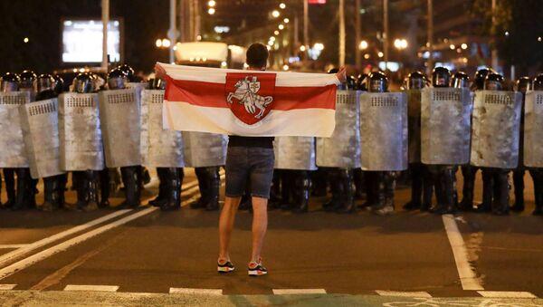 Belarus'ta protesto gösterileri - Sputnik Türkiye