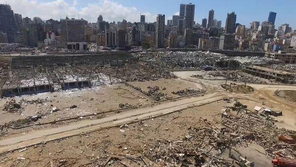 patlama sonrası Beyrut, Lübnan - Sputnik Türkiye