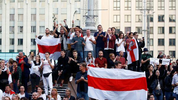 Belarus seçim protestoları - Sputnik Türkiye