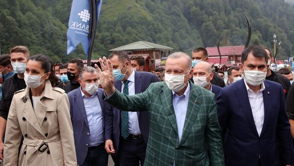 Recep Tayyip Erdoğan, Ayder Yaylası - Sputnik Türkiye