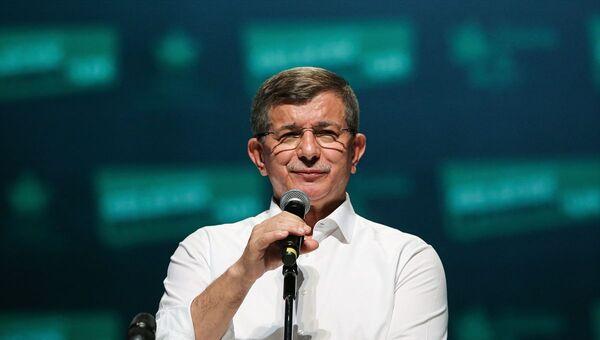 Gelecek Partisi Genel Başkanı Ahmet Davutoğlu - Sputnik Türkiye