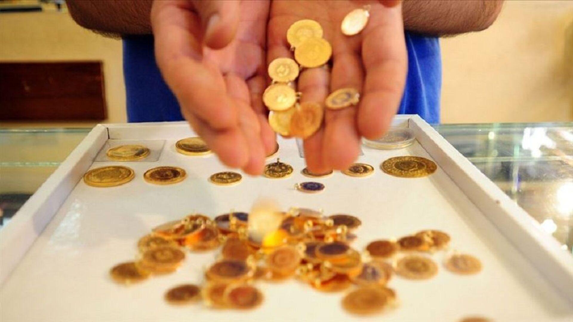 Gram altın, çeyrek altın, altın - Sputnik Türkiye, 1920, 25.08.2021