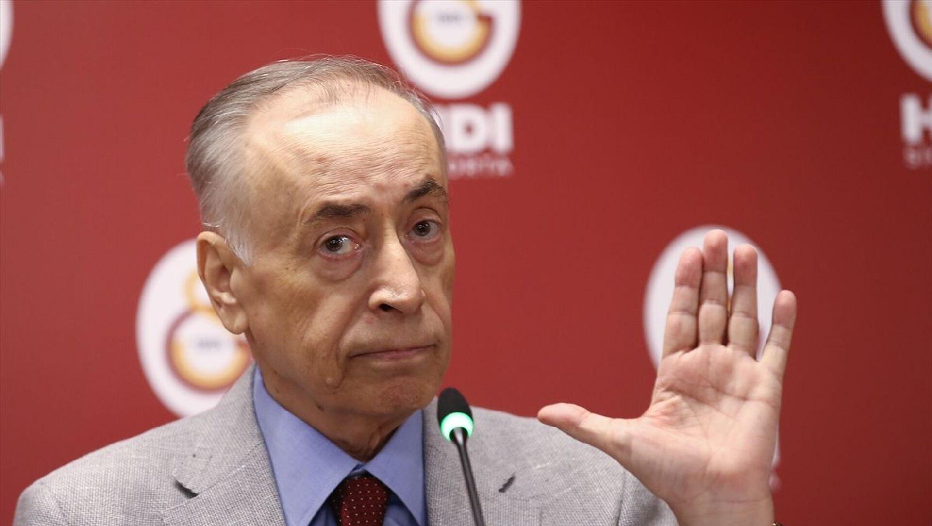 Galatasaray Kulübü Başkanı Mustafa Cengiz - Sputnik Türkiye, 1920, 03.06.2021