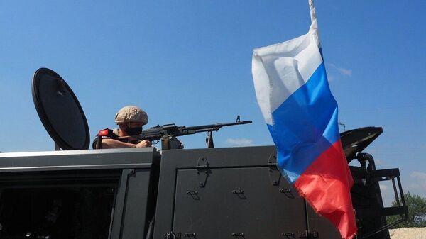 Suriye'de Rus askerleri - Sputnik Türkiye