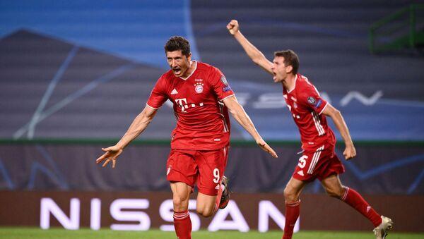 Bayern Munich oyuncusu Robert Lewandowski - Sputnik Türkiye