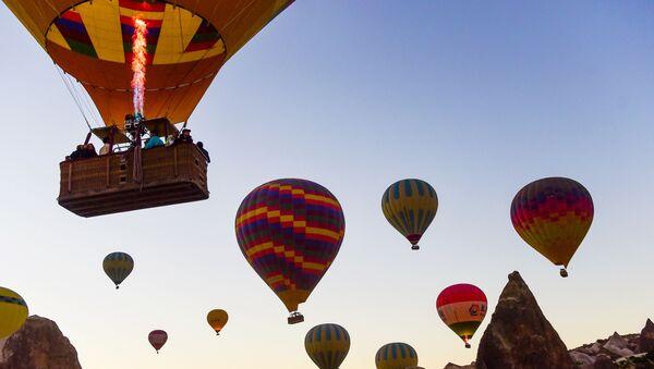 sıcak hava balon turları, Kapadokya - Sputnik Türkiye