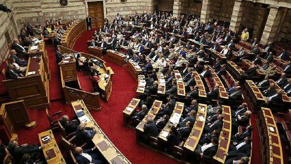 Yunanistan parlamento - Sputnik Türkiye