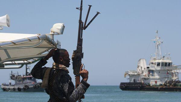 Somalili korsanlarla mücadele eden güvenlik güçleri - Sputnik Türkiye
