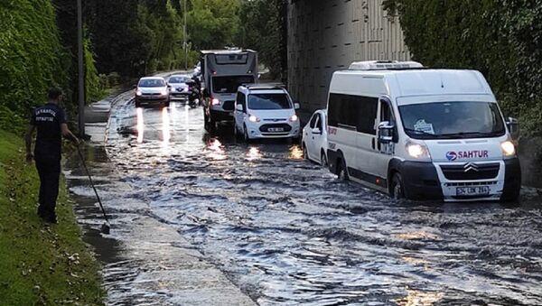 İstanbul sağanak yağış - Sputnik Türkiye