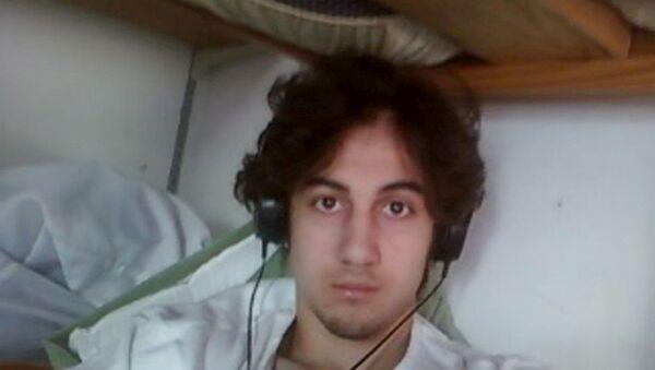 Dzhokhar Tsarnaev (Cahar Çarnayev), 2015 arşiv fotoğrafı - Sputnik Türkiye
